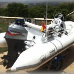 Semirigida Eslora 4,5 M Motro Mariner 60CV
